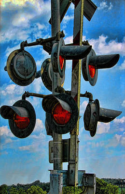 Photograph - Crossed Signals by Wendy J St Christopher