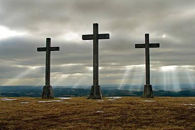 Crosses Art Print by Rod Jones