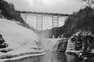 Photograph - Crossing At Letchworth by Guy Whiteley