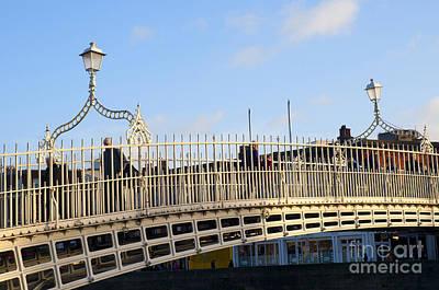 Photograph - Half Penny Bridge Crossing Eternity by Brenda Kean