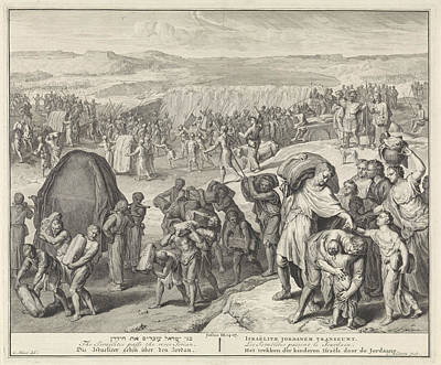 Crossing Over Jordan, Cornelis Huyberts Art Print by Quint Lox