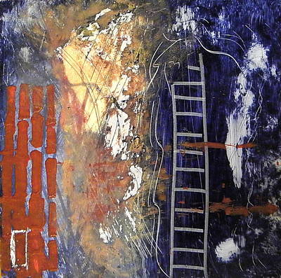 Painting - Crossing Over by Sue McElligott