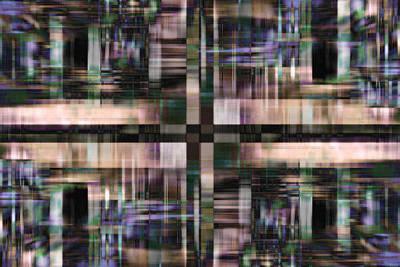 Digital Art - Crossing by Steve Ball