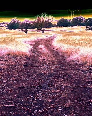 Crossing That Dark Horizon Isn't Unfamiliar To Me 2010 Art Print by James Warren