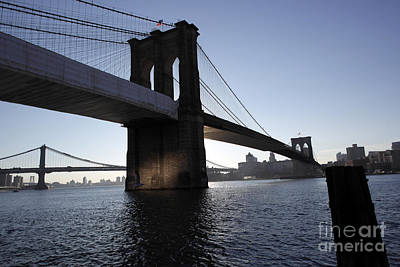 Photograph - Crossing The East River by David Bearden