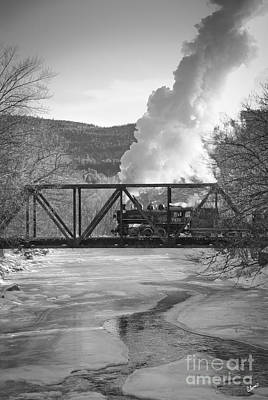 Photograph - Crossing The Ellis River by Alana Ranney