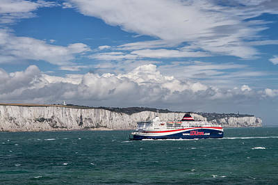 Crossing The English Channel Art Print by Tim Stanley