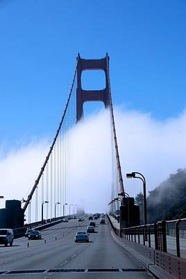 Photograph - Crossing The Fog by Eric Tressler
