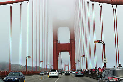 Photograph - Crossing The Golden Gate by Heidi Smith