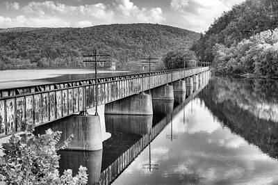 Photograph - Crossing The James by JC Findley