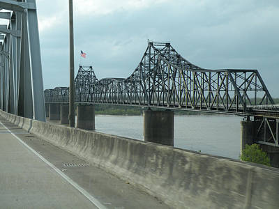 Photograph - Crossing The Mississippi At Vicksburg by Becky Erickson