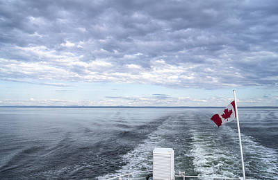 Photograph - Crossing The St-lawrence by Arkady Kunysz