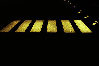 Asphalt Photograph - Crossover by Jef Flour