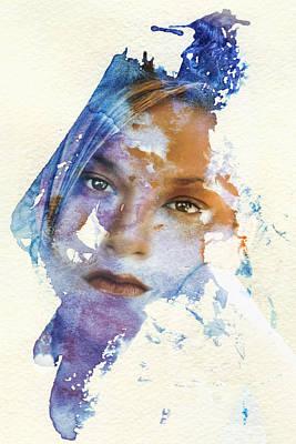 Crossroad Art Print by Joan Bertucci