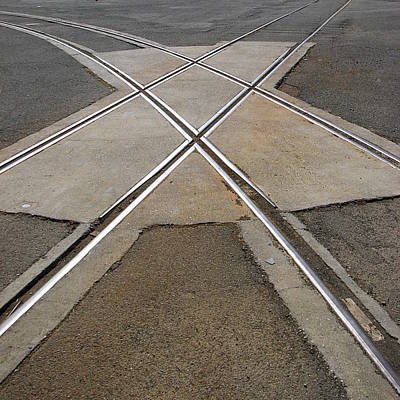 Photograph - Crossroads by Ben Freeman