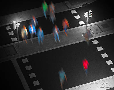 Photograph - Crosswalk by Pedro L Gili