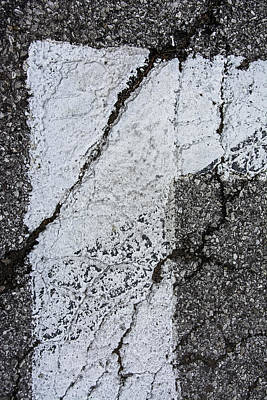 Crosswalk1 Dt Stl Print by KM Corcoran