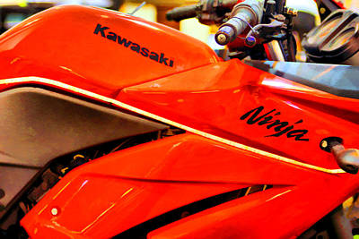Photograph - Crotch Rocket by Brian Davis