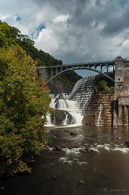 Photograph - Croton Dam Summer 1 by Frank Mari