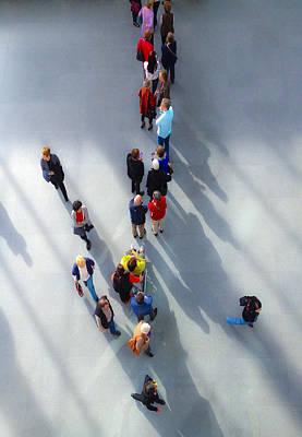 Mfa Photograph - Crowding by David Stone