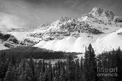 Photograph - Crowfoot Glacier by Dee Cresswell