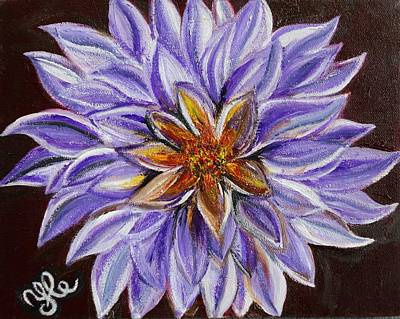 Painting - Crown Chakra by Yesi Casanova