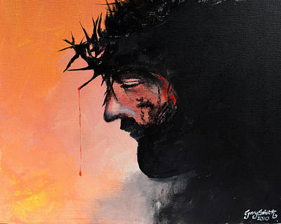 Painting - Blood Of The Redeemer by Gary Smith