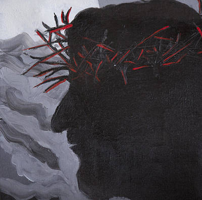 Crown Of Thorns Art Print by Kate Farrant
