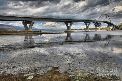 Photograph - Crown Point New York Bridge by Adam Jewell