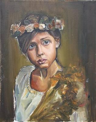Crowned Girl Original by Senol KARAKAYA