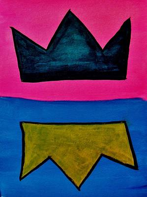 Painting - Crowns by Frank Middleton