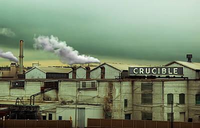 Crucible Art Print by Steven Michael