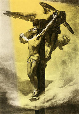 Crucifiction Art Print by Gary Grayson