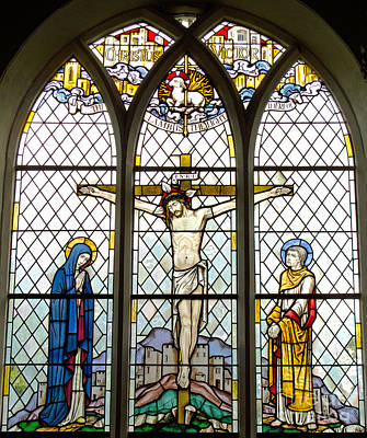 Crucified Art Print by Ann Horn