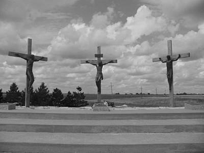 Photograph - Crucified by Jeffrey Randolph