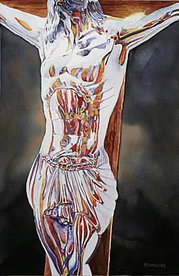 Crucifijo En Plata Art Print by Patrick DuMouchel