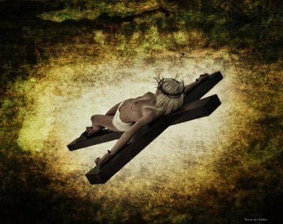 Crucifixion Wall Art - Photograph - Crucifix II by Ramon Martinez