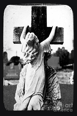 Photograph - Crucifix by John Rizzuto