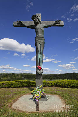 Religious Jesus On Cross Photograph - Crucifix  by Jonathan Welch