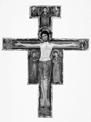 Painting - Crucifixion, C1200 by Granger