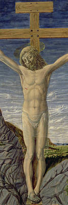 Crucifixion  Art Print by Master of the Barberini Panels