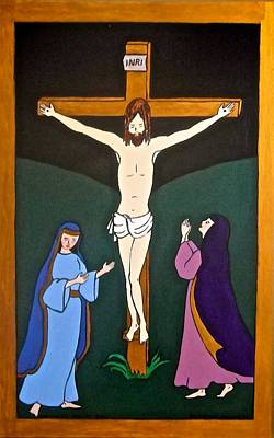 Painting - Crucifixion by Stephanie Moore