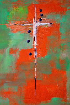 Painting - Cruciform 2 by Nancy Merkle