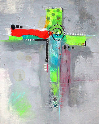 Painting - Cruciform 5 by Nancy Merkle