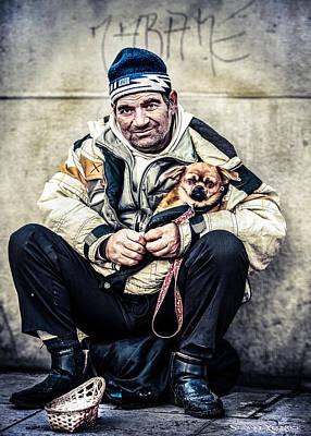 Photograph - Cruel Street Life by Stwayne Keubrick