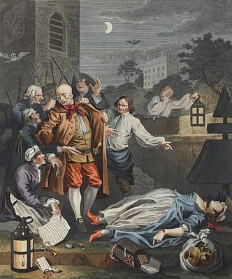 Cruelty In Perfection, From The Four Art Print by William Hogarth