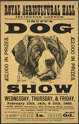 Architectural Elements Photograph - Cruft's Dog Show by British Library
