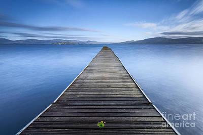 Loch Lomond Photograph - Cruin Jetty by John Farnan