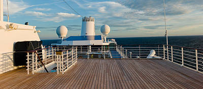 Belgium Photograph - Cruise Ship Deck, Bruges, West by Panoramic Images