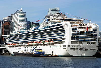Photograph - Cruise Ship by Devinder Sangha